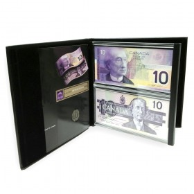 1986-2001 Bank of Canada $10 Dollar Bill, Lasting Impressions Dual Series Collector's Set