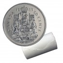 1989 Canadian 50-Cent Coat of Arms Half Dollar Original Coin Roll