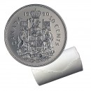 1990 Canadian 50-Cent Coat of Arms Half Dollar Original Coin Roll