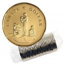 1995 Canadian $1 Peacekeeping Loonie Dollar Original Coin Roll