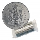 1995 Canadian 50-Cent Coat of Arms Half Dollar Original Coin Roll