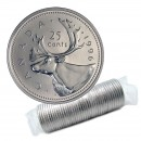 1996 Canadian 25-Cent Caribou Quarter Original Coin Roll