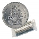 1999 Canadian 50-Cent Coat of Arms Half Dollar Original Coin Roll