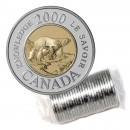 2000 Canadian $2 Path of Knowledge Toonie Original Coin Roll