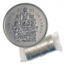 2000 Canadian 50-Cent Coat of Arms Half Dollar Original Coin Roll