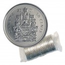 2001-P Canadian 50-Cent Coat of Arms Half Dollar Original Coin Roll