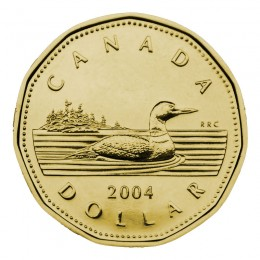 2004 Canadian $1 Common Loon Dollar (Brilliant Uncirculated)