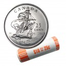 2004-P (1604-) Canadian 25-Cent Ile St Croix/First French Settlement 400th Anniv Quarter Original Coin Roll