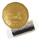 2005 Canadian $1 Common Loon Dollar Original Coin Roll