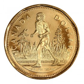 2005 Canadian $1 Terry Fox Loonie Dollar (Brilliant Uncirculated)