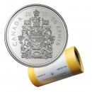 2007 Canadian 50-Cent Coat of Arms Half Dollar Special Wrap Coin Roll
