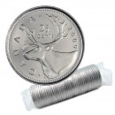 2009 Canadian 25-Cent Caribou Quarter Original Coin Roll