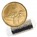 2010 (1910-) Canadian $1 Navy 100th Anniversary Loonie Dollar Original Coin Roll