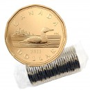 2011 Canadian $1 Common Loon Dollar Original Coin Roll