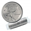 2011 Canadian 25-Cent Caribou Quarter Original Coin Roll