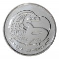 2011 Canadian 25-Cent Legendary Nature: Orca Whale Non-coloured Quarter Original Coin Roll