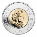 2012 Canadian $2 Polar Bear, Security Toonie Original Coin Roll