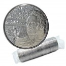 2013 Canadian 25-Cent Heroes of 1812: Charles-Michel de Salaberry Non-coloured Quarter Original Coin Roll