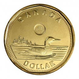 2014 Canadian $1 Common Loon Security Dollar (Brilliant Uncirculated)