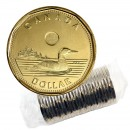 2014 Canadian $1 Common Loon Security Dollar Original Coin Roll