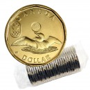 2014 Canadian $1 Olympic Lucky Loonie Dollar Original Coin Roll