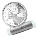 2016 Canadian 25-Cent Caribou Quarter Original Coin Roll