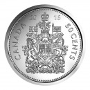 2016 Canadian 50-Cent Coat of Arms Half Dollar Coin (Brilliant Uncirculated)