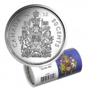 2016 Canadian 50-Cent Coat of Arms Half Dollar Special Wrap Coin Roll