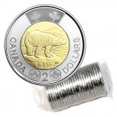 2018 Canadian $2 Polar Bear Toonie Original Coin Roll