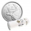 2019 Canadian 25-Cent Caribou Quarter First Strikes Special Wrap Coin Roll