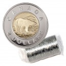 2002 (1952-) Canadian $2 Polar Bear/Silver Jubilee Toonie Original Coin Roll