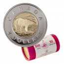 2007 Canadian $2 Polar Bear Toonie Original Mint Coin Roll