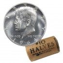 1964 US 50-Cent Kennedy Half Dollar 90% Silver Original Coin Roll