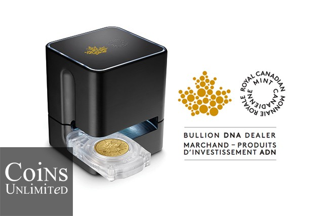 Coins Unlimited Partners with RC Mint's Bullion DNA Dealer Program