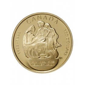 1998 Canada 14-karat Gold $100 Coin - 75th Anniversary of the Nobel Prize for the Discovery of Insulin (NO BOX)