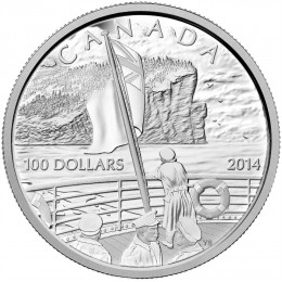 2014 Canada 10 oz Fine Silver $100 Coin - 100th Anniversary of the Declaration of the First World War