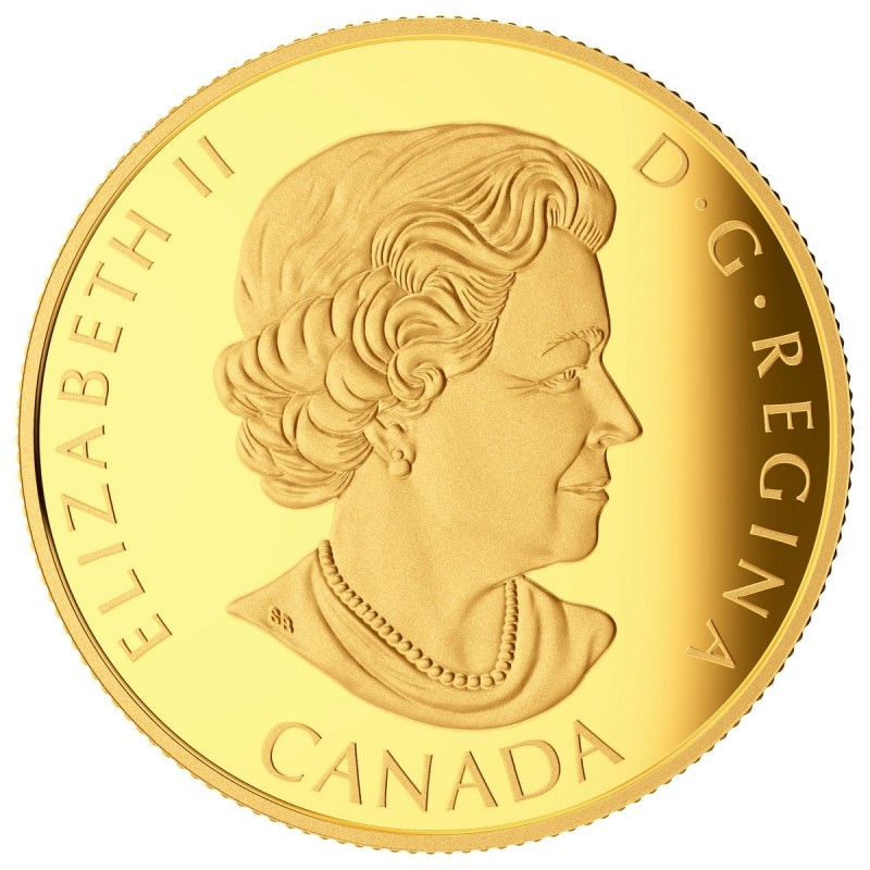 Canada 14-karat Gold $100 Coin - Iconic Superman™ Comic Book Covers ...