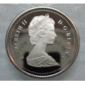 1987 Canadian 10-Cent Schooner Dime Coin (Brilliant Uncirculated)