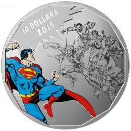 2015 Canada Fine Silver 10 Dollar Coin - DC Comics™ Originals: Gauntlet