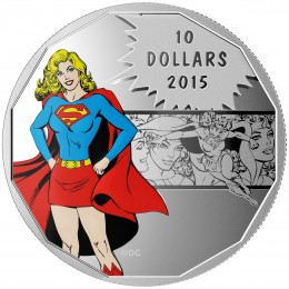 2015 Canada Fine Silver 10 Dollar Coin - DC Comics™ Originals: Strength