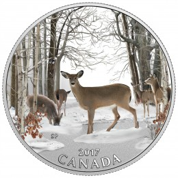 2017 Canada Fine Silver $10 Coin - Iconic Canada: Spring Sightings