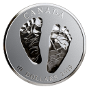 2019 Canadian $10 Welcome to the World - 1/2 oz Fine Silver Coin