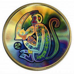 2004 Canada 18-karat Gold $150 Hologram Coin - Lunar Year of the Monkey