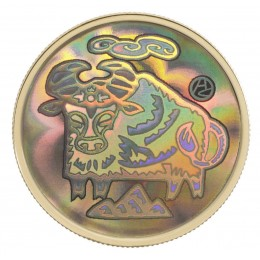 2009 Canada 18k Gold $150 Hologram Coin - Lunar Year of the Ox