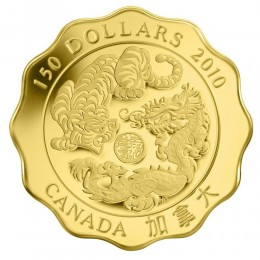 2010 Canada Pure Gold $150 Coin - Blessings of Strength