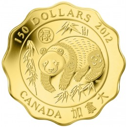 2012 Canada Pure Gold $150 Coin - Blessings of Good Fortune
