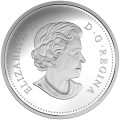 2018 Canadian $15 Celebration of Spring: Apple Blossoms - Fine Silver Coin
