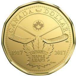 2017 (1917-) Canadian $1 5-Coin Circulation Pack - 100th Anniversary of Toronto Maple Leafs®