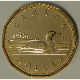 2002 Canadian $1 Common Loon (Brilliant Uncirculated)