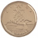 2004 Canadian $1 Lucky Loonie (Brilliant Uncirculated)